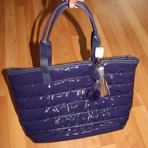 BATH&BODY WORKS Tote Bag Purple Pouch Shopping Bag